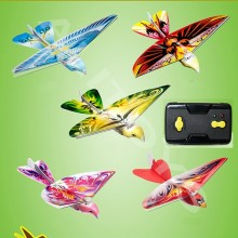 Радиоуправляемая птица радиоуправляемый самолет 2,4 ГГц с дистанционным управлением электронная птица Летающие птицы электронные мини радиоуправляемые дроны игрушки