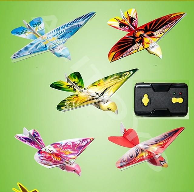 RC Bird RC Airplane 2 4 GHz Remote Control E-Bird Flying Birds Electronic Mini RC Drone Toys