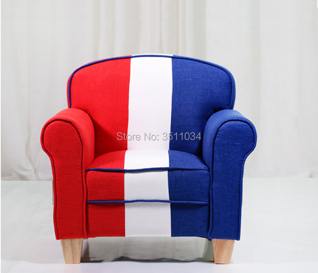 American Style Lovely Small sofa Cartoon Sofa Comfortable Living room leisure Bean bag sofa Students/Kids home furniture