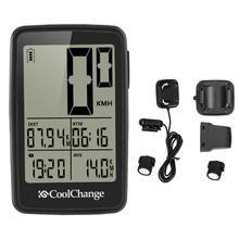 faae2970c1ff Impermeable inalámbrico MTB ciclismo odómetro impermeable cronómetro  velocímetro reloj Digital LED de retroiluminación(China)