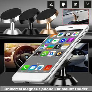 Image 1 - Voiture téléphone Mobile support magnétique 360 degrés sortie dair voiture magnétique Navigation multi fonction support de téléphone Mobile voiture style