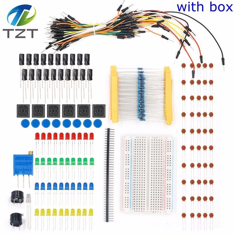 Starter Kit Uno R3 Mini Breadboard Led Jumper Wire Button For Arduino Diy Kit Electronic Components & Supplies