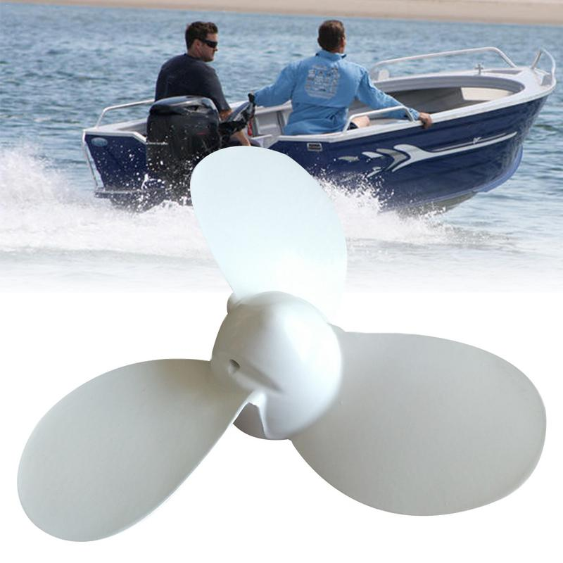 Image 2 - 1pc 2HP Outboard Propeller For Yamaha 7 1/4X5 A 6F8 45942 01 Ship Outboard Motors Solid Durable Propeller Aluminum Alloy-in Marine Propeller from Automobiles & Motorcycles