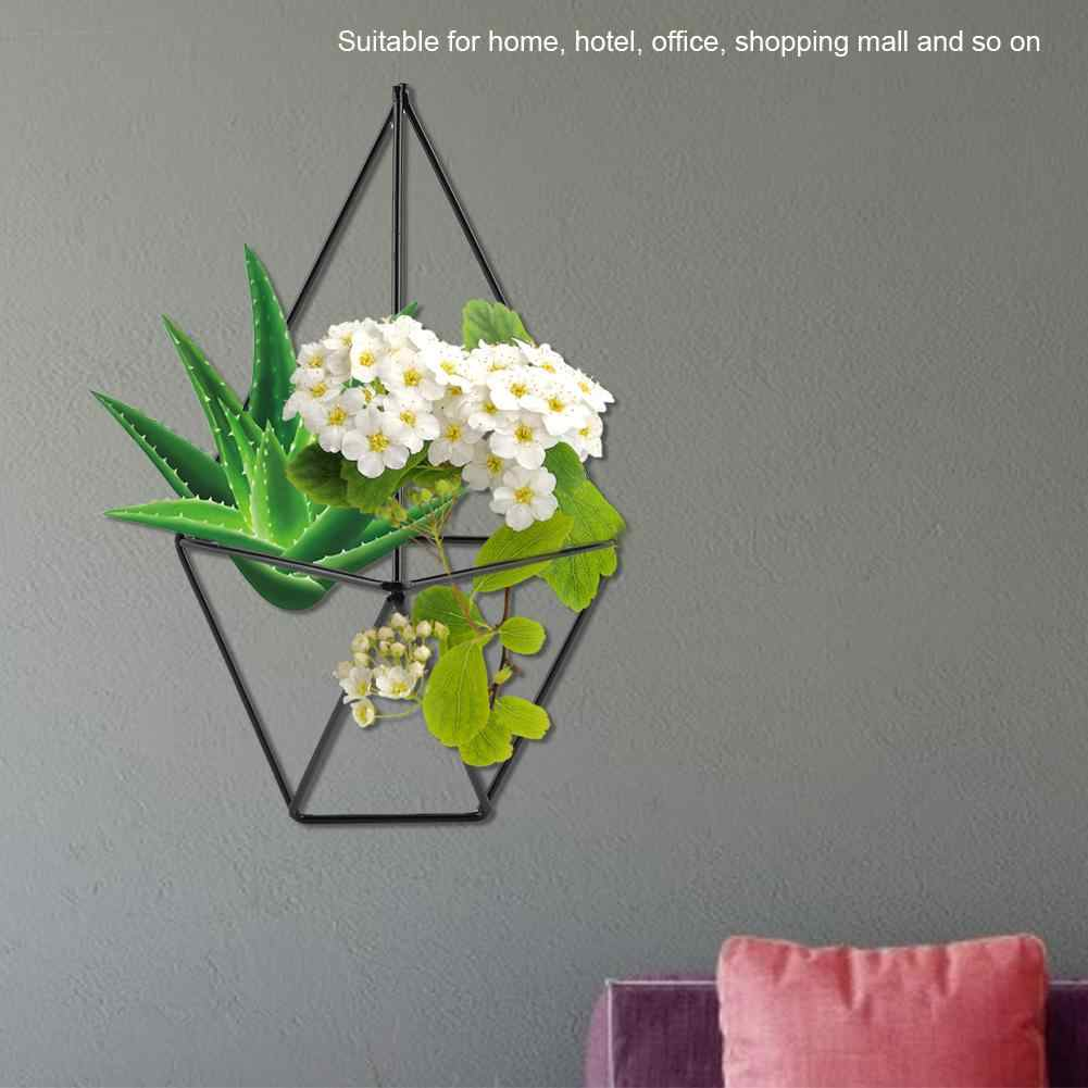 Настенные воздушные растения висячий цветочный горшок украшение для дома и сада