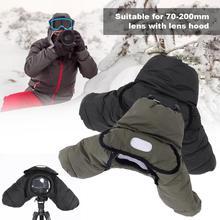 防水防風耐摩耗性冬熱暖かいデジタル一眼レフカメラカバーニコンD800