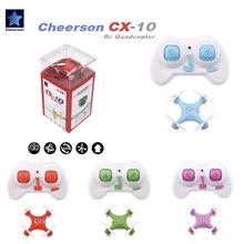 Cheerson CX-10 CX10 Mini 2.4G 4CH 6 Axis LED RC Quadcopter RTF Remove Control Toys Children Adult Birthday Gift Home Toys 4pcs engines motor 2cw 2ccw for cheerson cx 33 cx 33c cx 33w cx 33s remote control quadcopter rc drone spare parts