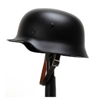 WW2 German M35 Steel Helmet WW II M35 German Repro Helmet Safety Motorcycle Bike World War 2 Steel Helmet