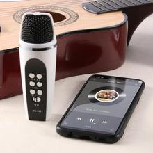 Live 4 Modes Smartphone Voice Changer Microphone w/Earphone Voice Switching