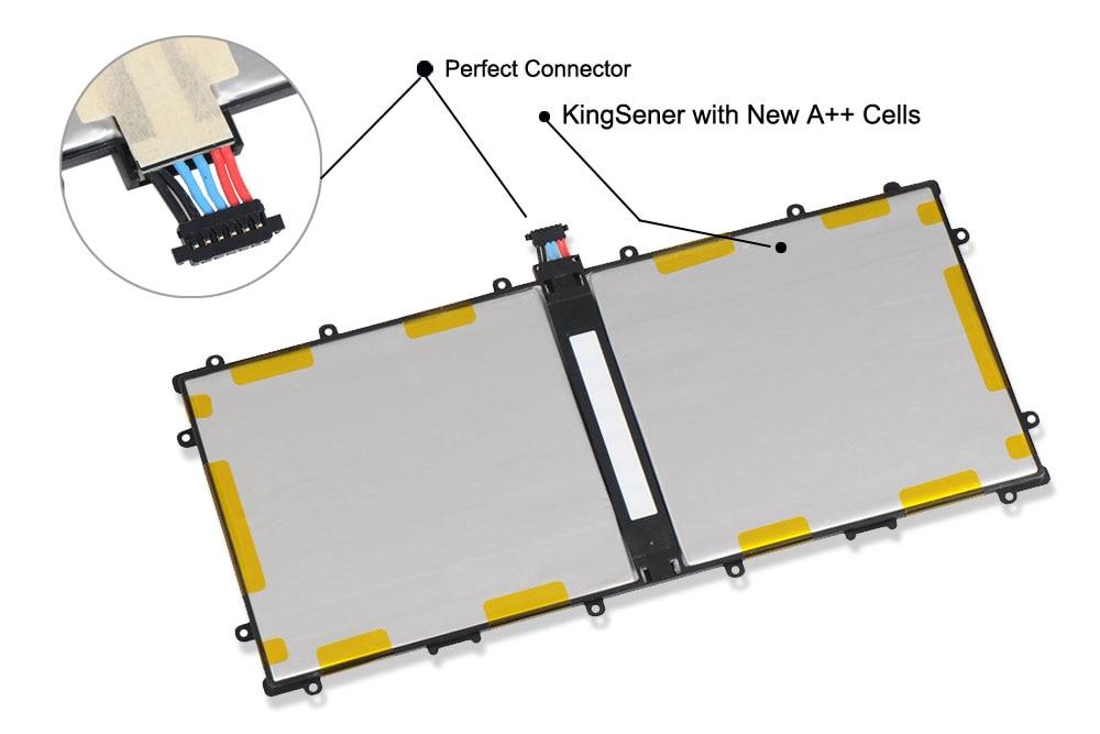 KingSener SP3496A8H Batteri För Samsung Google Nexus 10 N10 Tablet - Laptop-tillbehör - Foto 3
