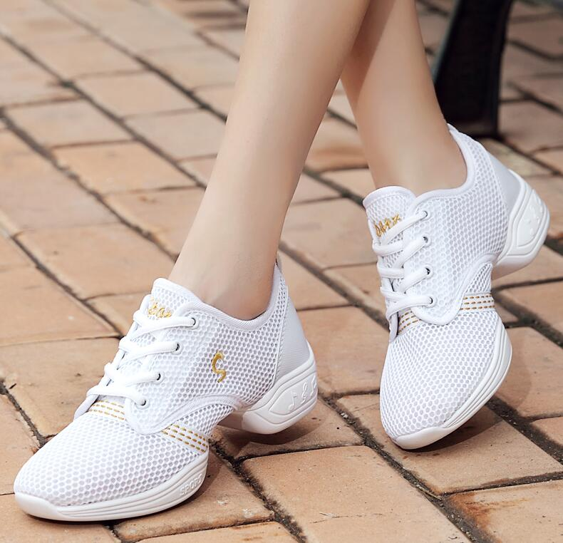 Akexiya Men's Sports Sneakers Latin Ballroom Dance Shoes Black Latin Salsa Large Size 43 Women's Tango Modern Dance Jazz Shoes