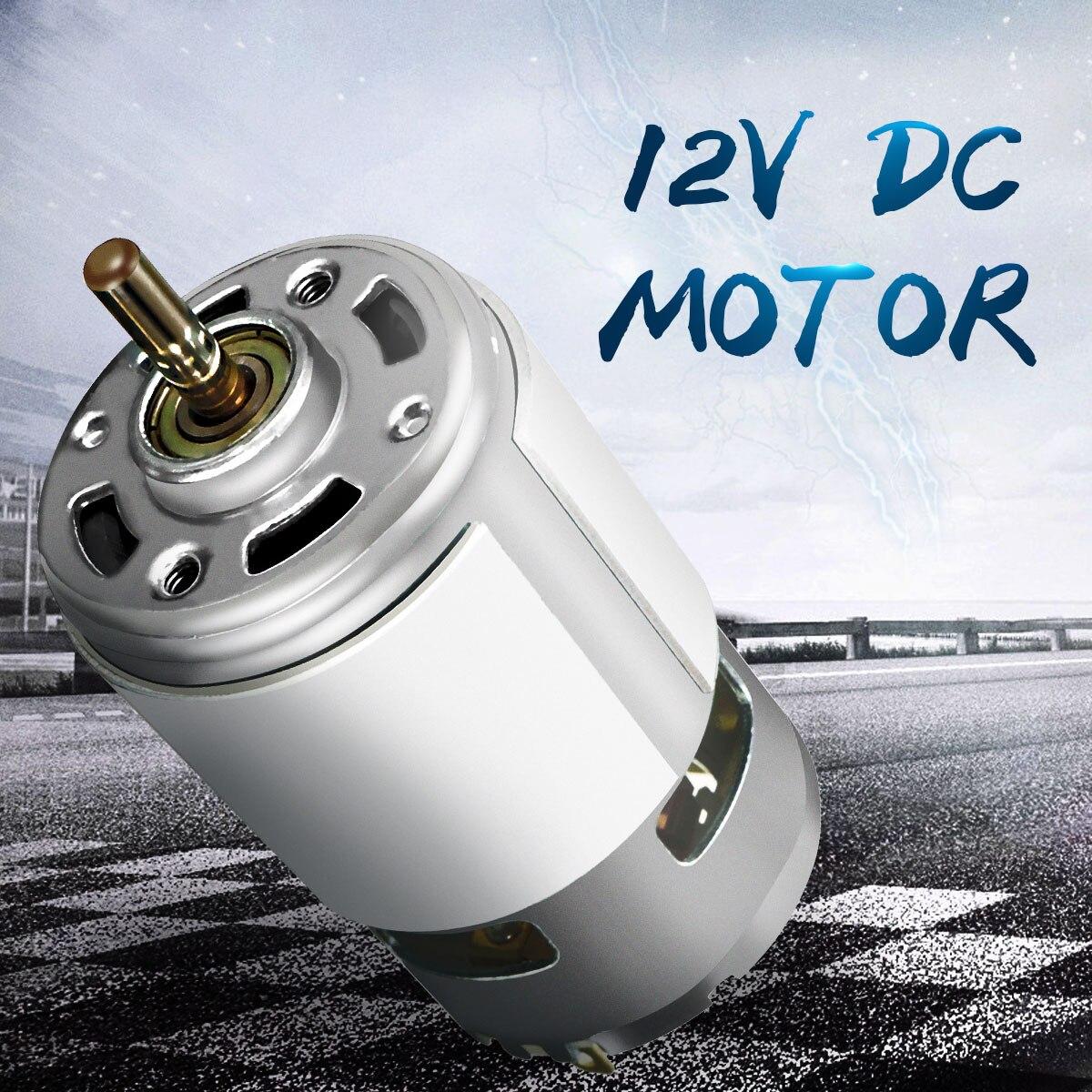 DC 12 v 100 w 1300015000 rpm 775 motor de Alta velocidade Grande torque do motor DC Elétrica ferramenta Elétrica máquinas