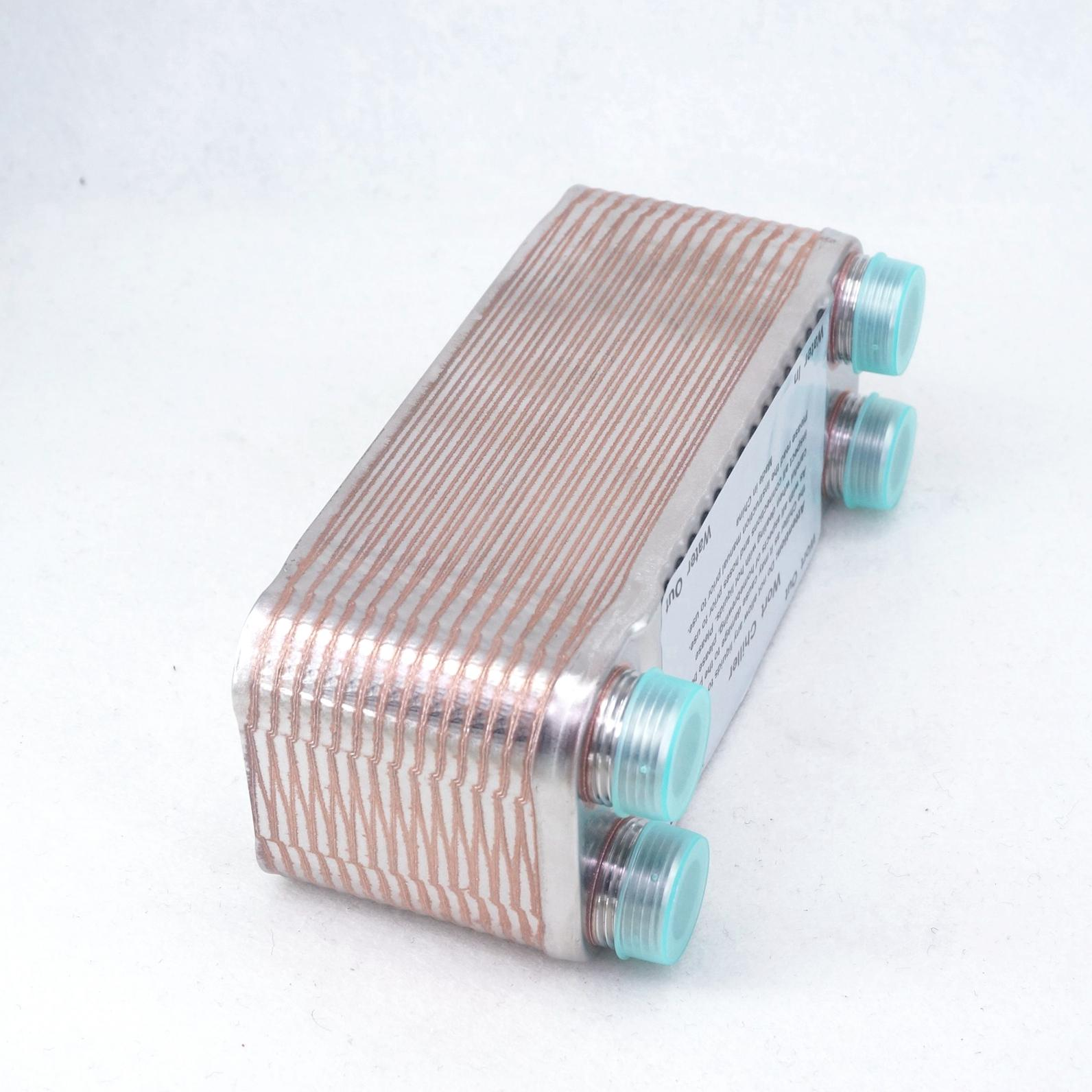 30 Plates Wort Chiller 304 Stainless Steel Homebrew Heat Exchanger 3/4