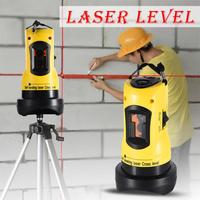 Laser Level 360 Degrees Rotary Slash Functional Self leveling Hight Adjustable DIY Economic 2 (1V, 1H) Cross Lines Laser Level