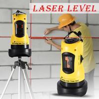 Laser Level 360 Degrees Rotary Slash Functional Self leveling Hight Adjustable DIY Economic 2 (1V, 1H) Cross Lines Laser Level