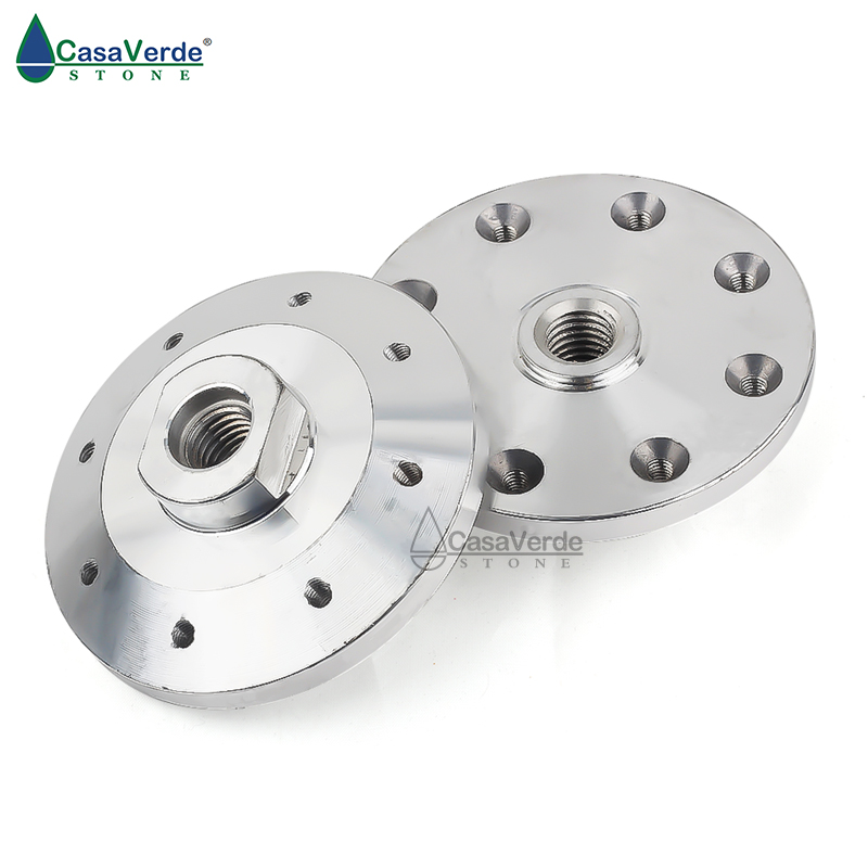 2pcs/lot Angle Grinder Accessories Saw Blade Adapter Support Fixed Thread M14 Aluminum Flange For Diameter 180mm-230mm