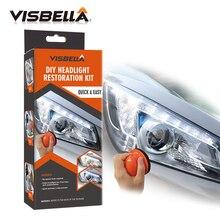 Visbella система восстановления фар Repair Kit поделка налобный фонарь отбеливатель уход за автомобилем Repair kit лампа свет чистая полировка по ручному