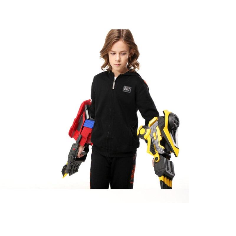 Déformation Robot bras pistolets à eau Transformation Robot bras Cosplay électrique eau balle pistolets jouet pour enfants Airsoft Guns