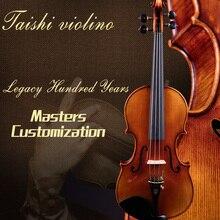 Taishi Guarnieri 1743 скрипка профессиональный уровень 4/4 скрипка o Strad реальный профессиональный уровень Melhor производительность