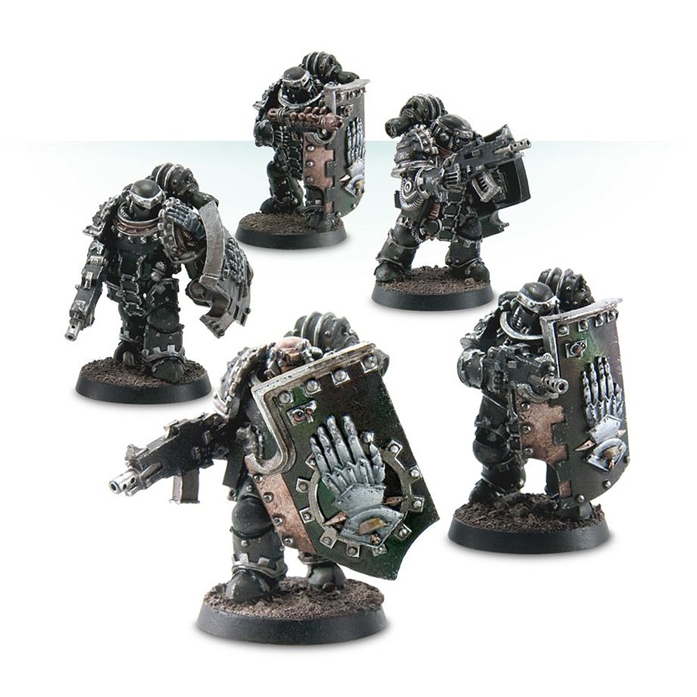 Iron Hands medusan Immortels-Bras droit