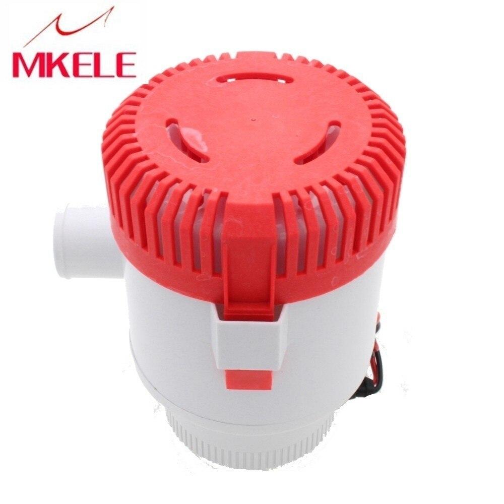 MKBP-G3500-12 12 V 3500GPH pompe de cale à piles sans interrupteur à flotteur, qualité de bateau de pompe de cale assurée