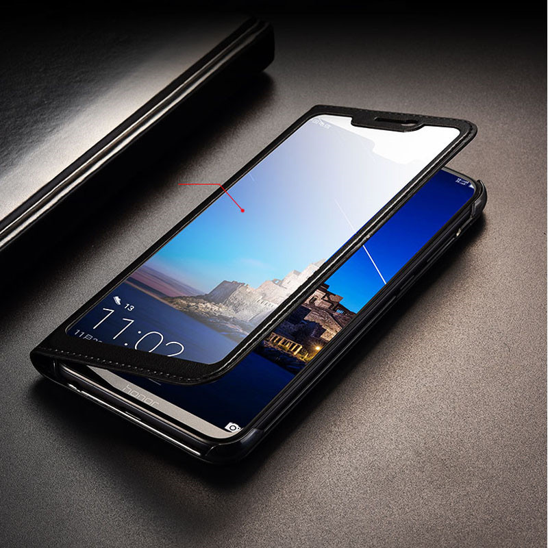 for <font><b>Huawei</b></font> <font><b>Honor</b></font> <font><b>8X</b></font> <font><b>Case</b></font> <font><b>8X</b></font> Max Full View Window PU Leather <font><b>Flip</b></font> <font><b>Cover</b></font> Funda <font><b>Case</b></font> for <font><b>Huawei</b></font> <font><b>Honor</b></font> <font><b>8X</b></font>/<font><b>8x</b></font> Max protective <font><b>case</b></font> image