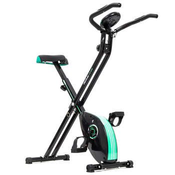 Cecotec Bicicleta X-Bike Estatica plegable magnetica. Pedales de maximo agarre.
