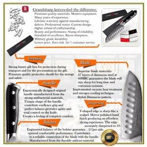 Image 5 - 5 אינץ Santoku סכין VG10 יפני דמשק נירוסטה 67 שכבות יפני דמשק סכיני מטבח מקצועי שף של כלים