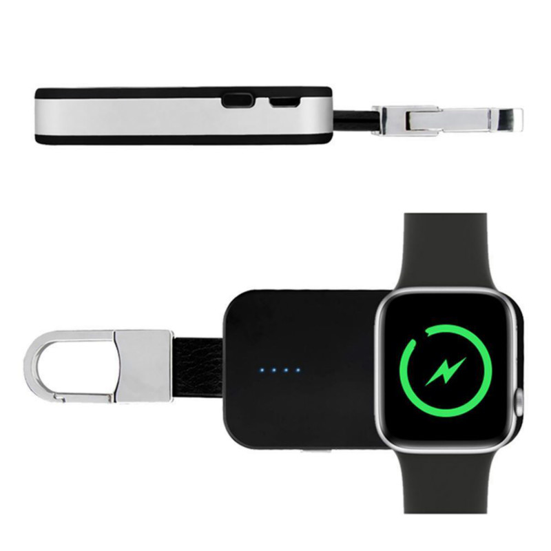 Accessories & Parts Cooperative Mini Watch Wireless Charger Keychain Power Bank For Apple Watch Iwatch 1/2/3 New Chargers
