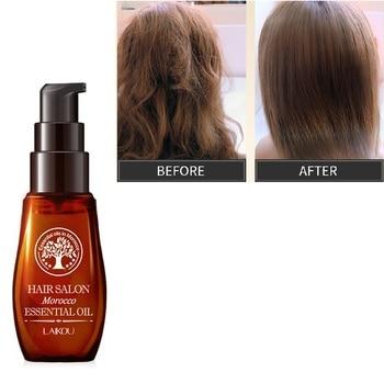 LAIKOU 40ML Morocco Pure Argan Oil Hair Growth Nut Essential Oil Anti Hair Loss Repair for Repair Damaged Dry Hair Types TSLM1