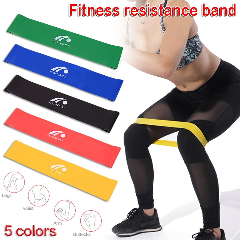 5 Pcs New Latex Fitness Equipment Resistance Bands Crossfit Yoga Rubber Loop Sport Training Equipment Fitness Exercise Ring