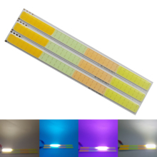 10pcs/lot New led bulbs four color DC 12V 4w cob strip lamp light warm cold blue white pink for auto chip