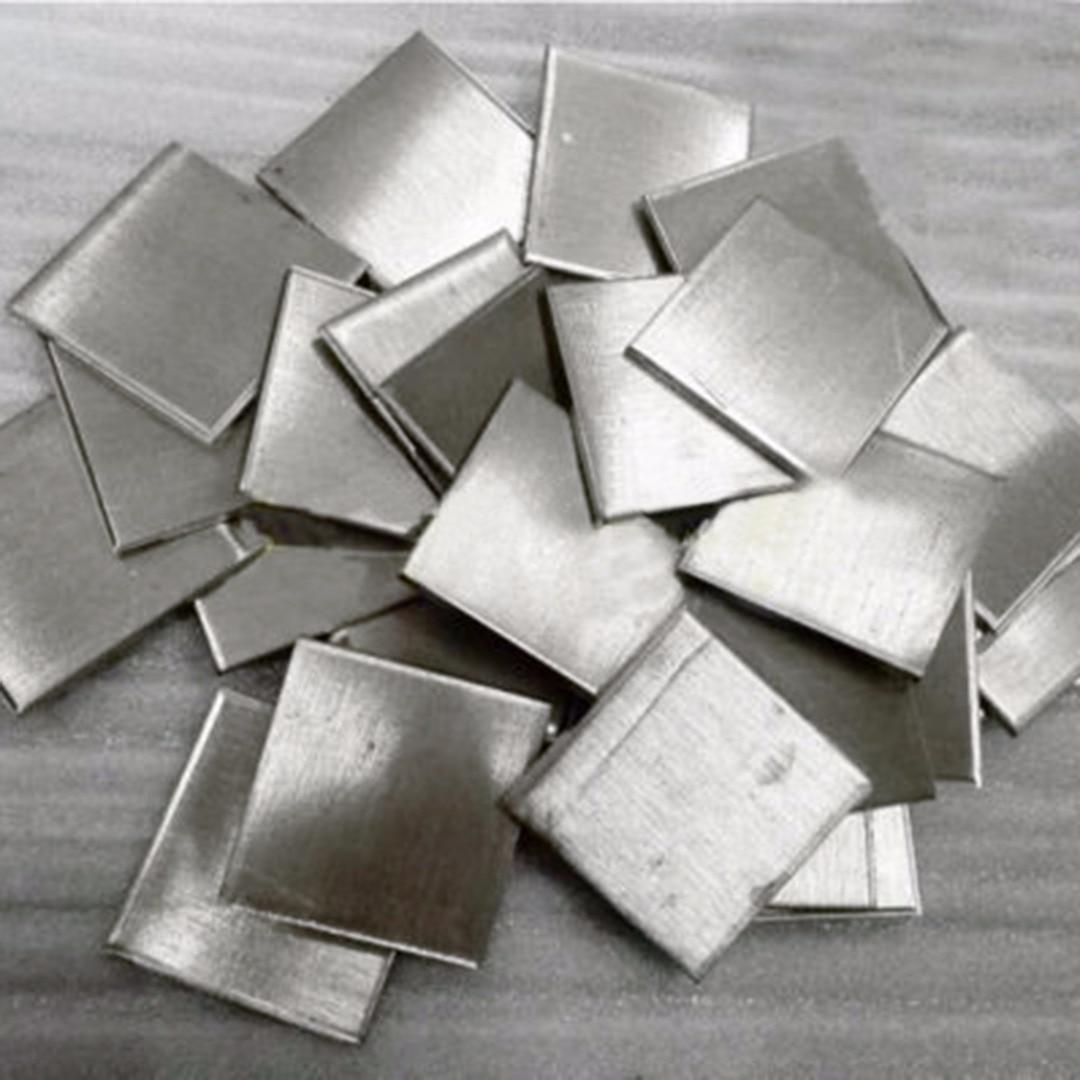 OSSIEAO 100g 99.99% High Purity Nickel Ingot Sheet Pure Nickel Metal For Electroplating