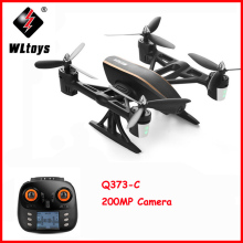 WLtoys Q373 RC Drone with Brush Motor 3D 4G Mode 4CH 6Axis Stunt Quadcopter Air Dancer Aircraft RTF Wifi Camera Toys