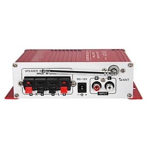 Image 4 - Mini amplificador Digital portátil Kentiger Hy 602, potencia de estéreo Hifi, con Control Fm, Ir, Fm, Mp3, Usb, reproducción con cuatro Dsp