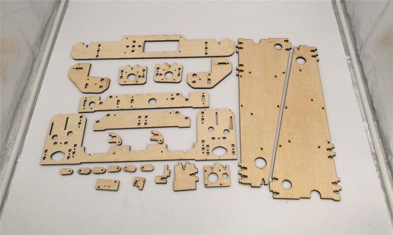 DIY Anet A8-Hesine M505-Tronxy 3D Printer clone Frame kit Laser Cut 6mm PlyWood plate