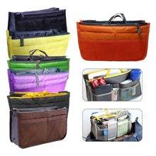 цена на Portable Multifunction Make Up Women Makeup Organizer Bag Dual Zipper Cosmetic Bag Toiletry Travel Kits Storage Bag