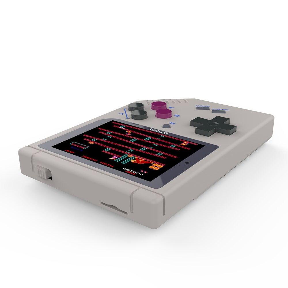 Console de jeu vidéo nouveau BittBoy-Version3.5-jeu rétro Console de jeux de poche progrès du joueur enregistrer/charger la carte MicroSD externe - 3