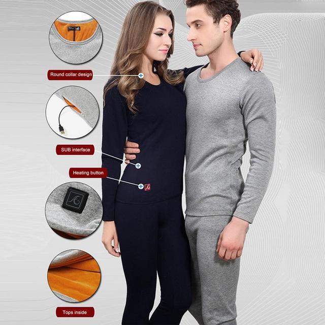 Ogrzewanie elektryczne ubrania z podgrzewaną wodą kamizelka USB ogrzewanie inteligentny najniższa koszula kontroli temperatury z podgrzewaną wodą Bielizna termiczna Top