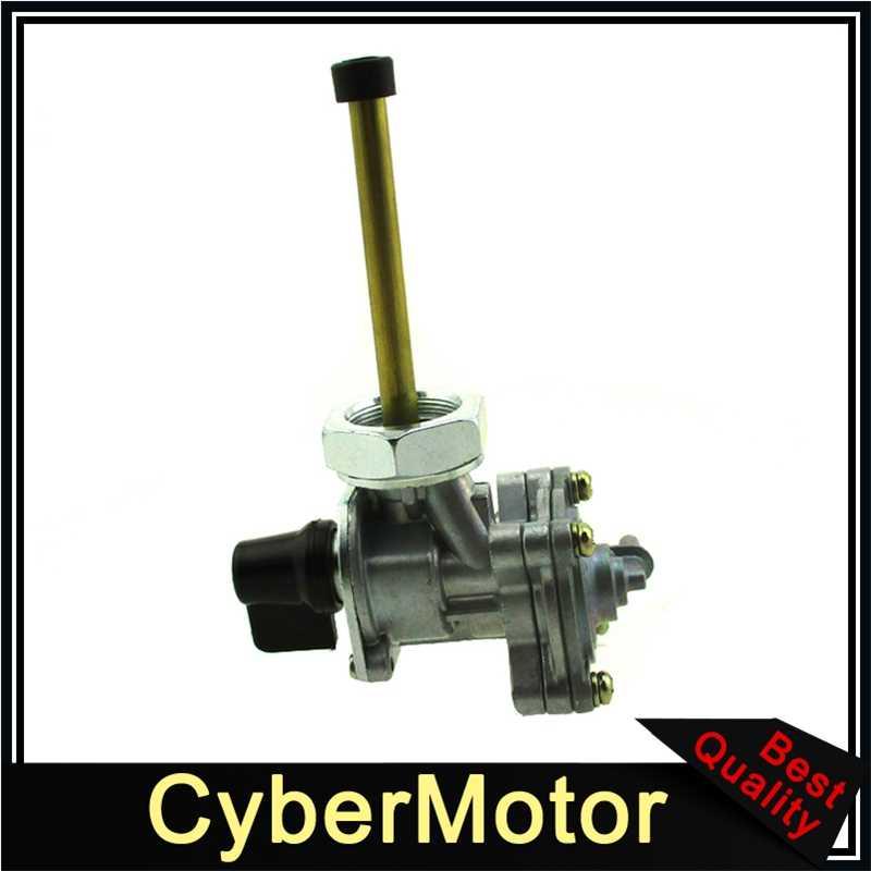 MachinYeser Interruptor de v/álvula de Grifo de Combustible Petcock de Gas Motocicleta Honda CBR600 88-07 Color: Plateado