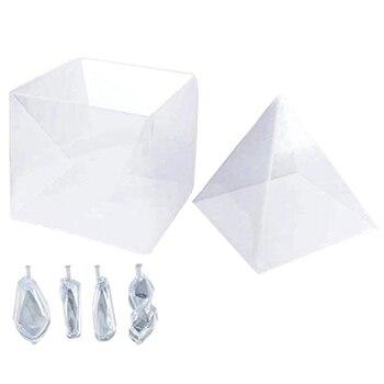 cc3ee5579428 Moldes grandes de resina de pirámide de silicona, moldes de fundición de  resina para Pirámide de ...
