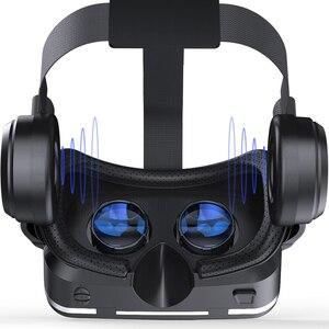 Image 5 - VR очки Shinecon 6,0, шлем виртуальной реальности с поворотом на 360 градусов, для Android смартфонов 4,7 6,0 дюймов