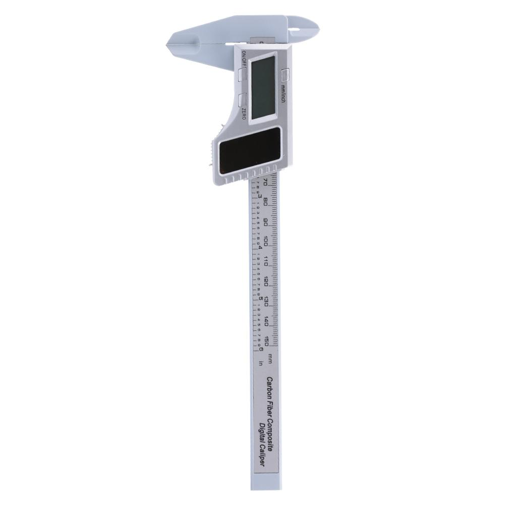 Solar Power Plastic Digital Display Electronic Ruler Scale Vernier Caliper 0-150mm new