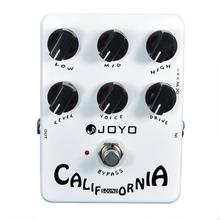 JOYO Guitar Effects Pedal California Sound Guitarra Single Block Effect Amp Simulator Electric Guitar Accessories JF-15