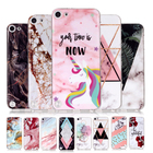 Marble Unicorn Case For Apple iPod Touch 6 Case Cover For Apple iPod Touch 5 Fashion INS Style Granite Texture TPU Silicon Cover