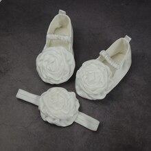 8a29e3a447b Bebé Niña Zapatos bautismo flor bautizo cuna Zapatos blanco bautismo Zapatos  Niña BB31