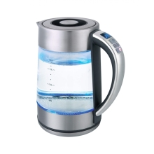 Чайник электрический GEMLUX GL-EK895GC (Мощность 2200 Вт, стеклянный корпус, объем 1,7 л., Функция установки и поддержания температуры)