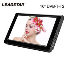 Leadstar 10 Inch DVB-T-T2 16:9 Portable TFT-LED HD Digital OG Warna Televisi TV Player untuk US Plug 2019 Hot Sale(China)