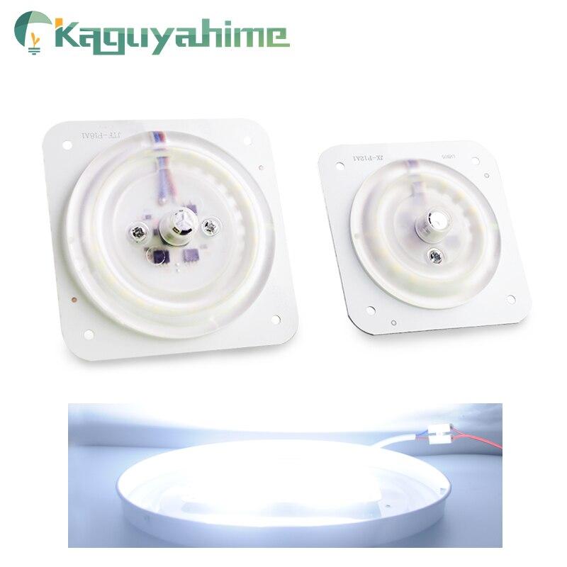 Kaguyahime 220 v Módulo de Fonte de Luz LED Ultra Brilhante Fino LED 220v 12W 18W 20W 24W Para A Lâmpada Do Teto substituir Magnético Acessório lâmpada