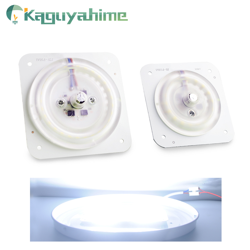 Kaguyahime 220v LED Light Source Module Ultra Bright Thin LED 12W 18W 24W For Ceiling Lamp Replace Magnetic Accessory Lamp Bulb