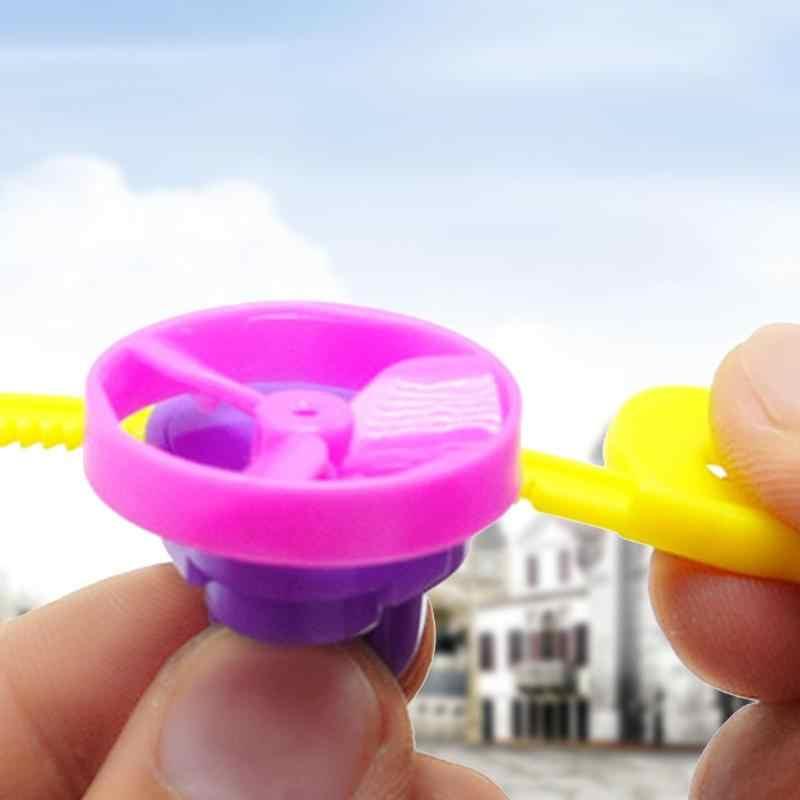 Heißer verkauf UFO Kunststoff Pull Rotary Gyro mode Spinning Top beyblade Kampf Kreiselsicherheitssensor DIY Twist Spielzeug Kindheit Speicher бейблейд